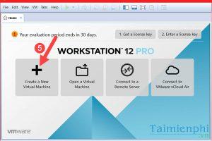 Hướng dẫn cài đặt windows server 2008 bằng phần mềm VMware