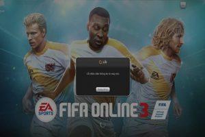 Sửa lỗi nhận diện máy chủ FIFA Online 3