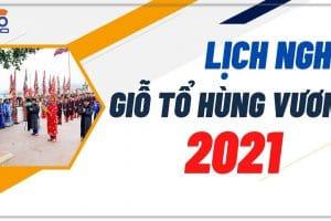 Thông báo nghỉ lễ Giỗ Tổ Hùng Vương 10.3.2021